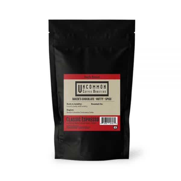 12 oz. Classic Espresso coffee bag