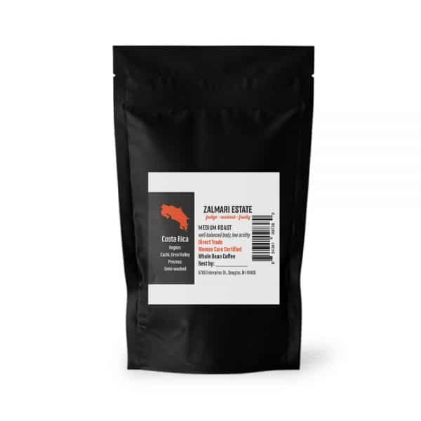 12 oz. Zalmari Estate coffee bag