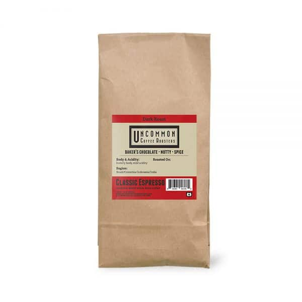 2 lbs. Classic Espresso coffee bag