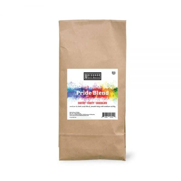 2 lbs. Pride Blend coffee bag