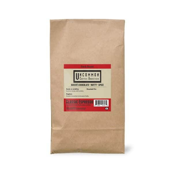5 lbs. Classic Espresso coffee bag