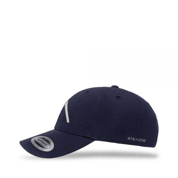 Left view of Elevate Coffee snapback baseball cap