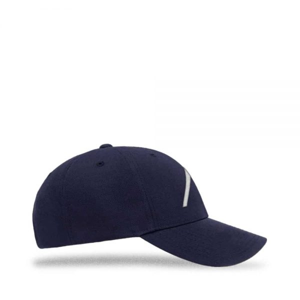 Right view of Elevate Coffee snapback baseball cap