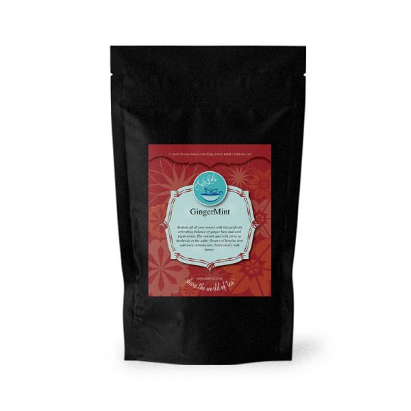 100g bag of GingerMint herbal tea