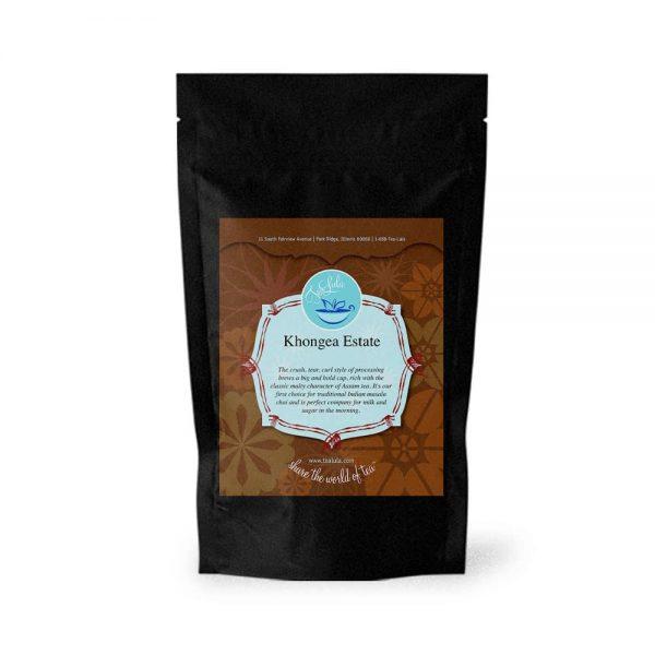 50g bag of Khongea Estate black tea